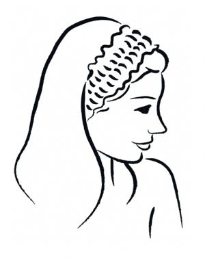 Vlies-Haarbänder | 100 Stk.