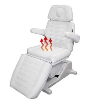867-4 Kosmetikliege Santiago mit Sitzheizung
